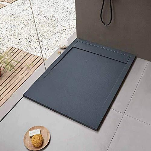Sanycces douchebak 100 x 90 cm - Clever Anthracite