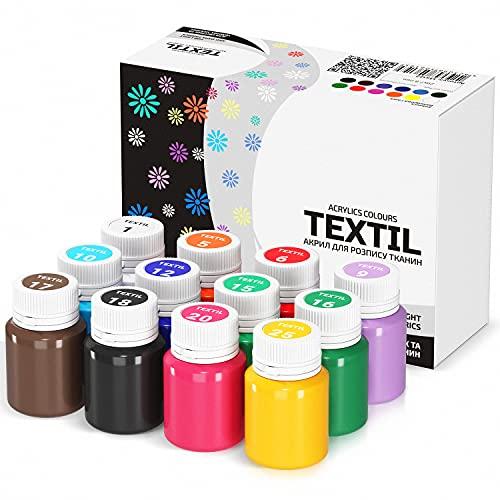 7 Artists Stofffarben Textilfarben Bild