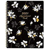 2021 Weekly Appointment Book/Planner - 53 Weeks Daily Planner Organizer, 30-Minute Interval, January 2021 - December 2021, Flexible Cover, Twin-Wire Binding, 8' x 9.8'