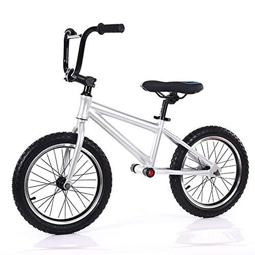 Bicicletta YXX- Prima Bici Senza Pedali Nessun Pedale Balance Bike Ruote da 16 Pollici, Allenamento Sportiva Regolabile per Bambini Grandi, Principianti E Adulti, Regalo di Co