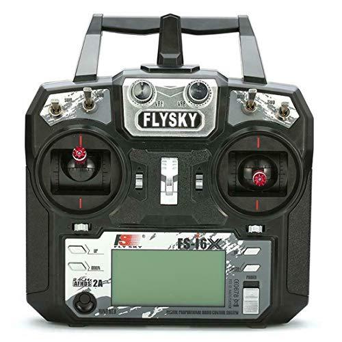 Flysky FS-i6X Fernbedienung Contoller 10 CH 2,4 GHz AFHDS 2 A RC Transmitter mit FS-iA10B Receiver für RC Airplane Modus 2