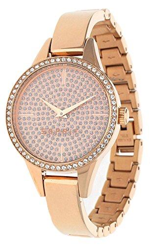 ESPRIT Damen Analog Quarz Smart Watch Armbanduhr mit Edelstahl Armband ES109062003