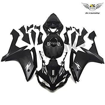 NT Glossy Matte Black White Complete Fairing Fit for YAMAHA 2007 2008 YZF R1 Injection Mold ABS Plastics Aftermarket Bodywork Bodyframe 07 08 A044