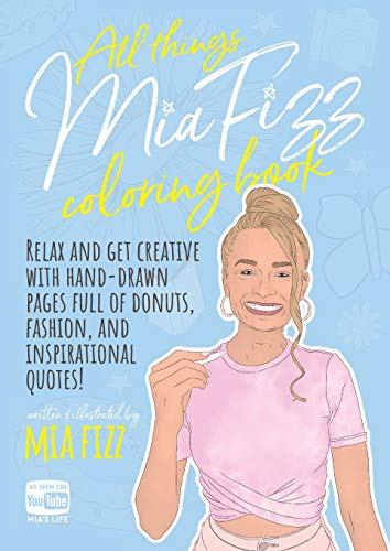 All Things Mia Fizz Coloring Boo...