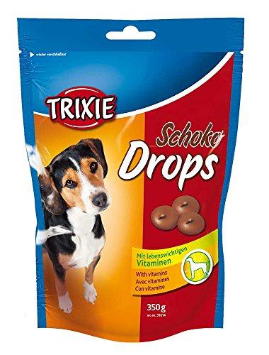 TRIXIE Schoko Drops - Golosinas para perros chocolate vitaminados, 350 g