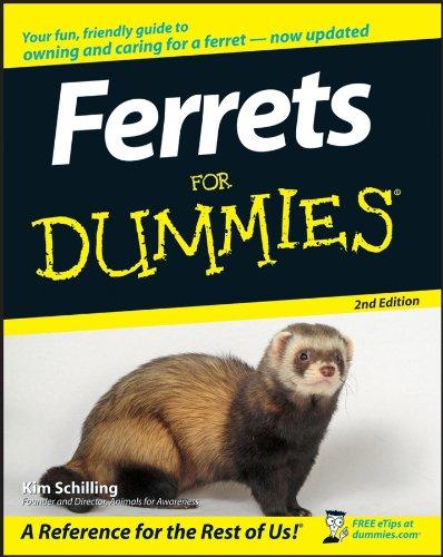 Ferrets For Dummies 2e
