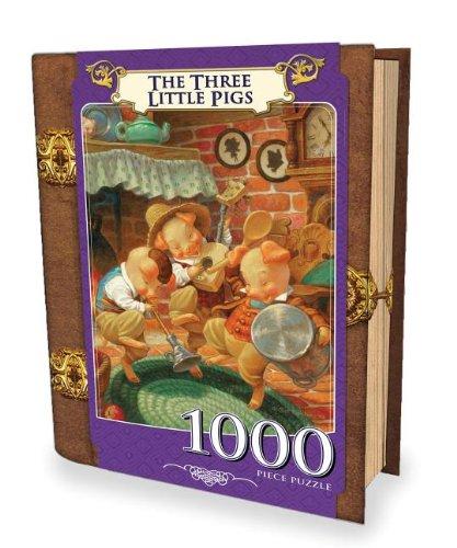 Puzzle Tres Cerditos marca Master Pieces