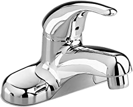 American Standard 2175.506.002 Colony Soft Single Metal Lever Centerset Lavatory Faucet with Grid Drain, Polished Chrome