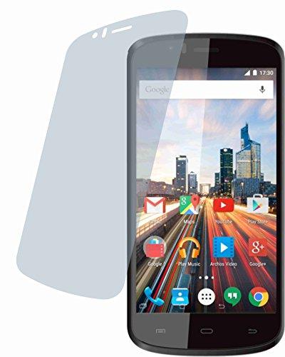 4ProTec I Archos 50 Cesium (4 Stück) Premium Bildschirmschutzfolie Displayschutzfolie ANTIREFLEX Schutzhülle Bildschirmschutz Bildschirmfolie Folie