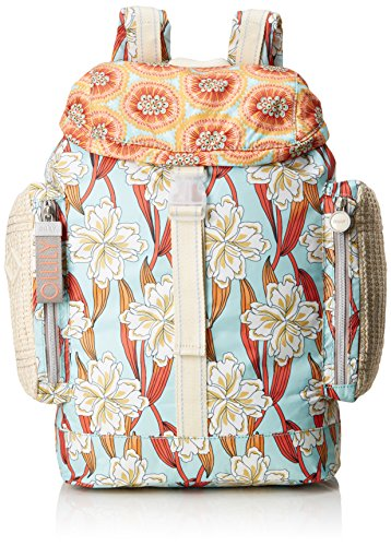 Oilily Damen Whoopy Ornament Backpack Lvz Rucksackhandtasche Türkis (Light Turquoise)