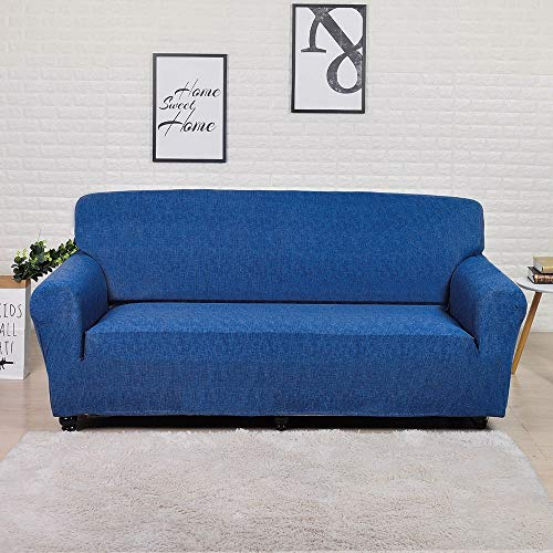 ASCV Sofabezug Elastic für Wohnzimmer Spandex Sofabezug für Eckcouch Sessel Schonbezug A15 2-Sitzer