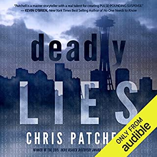 Deadly Lies audiobook cover art