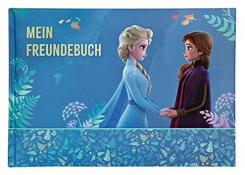 Undercover FRUW0964 Freundebuch A5, Disney Frozen II, 128 vorgedruckte Seiten mit vielen Eigenschaften zum Ausfüllen