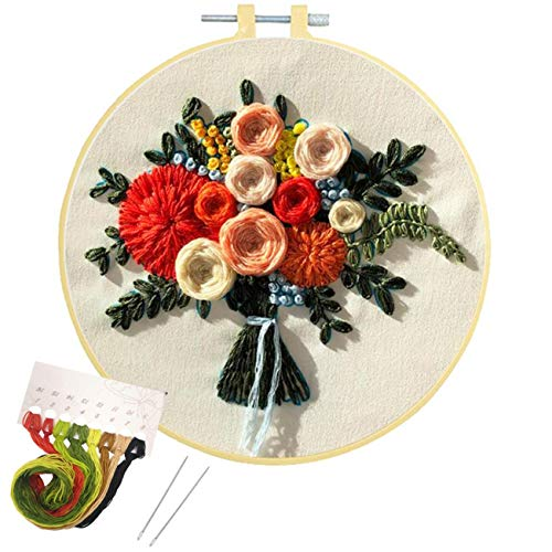 Nuberlic Embroidery Kit Cross Stitch Kit...