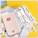 GJCrafts Máquina de etiquetado Bluetooth D30S(Incluye 3 Etiquetas Adhesivas en Rollo) Mini Impresora de Etiquetas portátil, impresión de Bricolaje, Haga su Propia Etiqueta de diseño a Mano