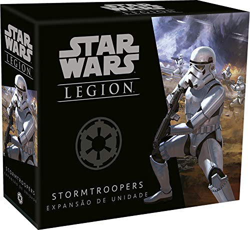 Wave 0 - Stormtroopers - Expansão De Unidade, Star Wars Legion Galápagos Jogos Multicor