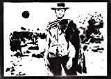 Poster Clint Eastwood Western Affiche Handmade Graffiti Street Art - Artwork
