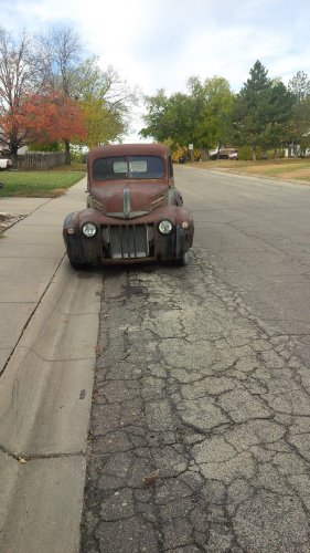 How to Convert an S-10 Frame/Suspension To Mount Your 1942 Ford Pick...