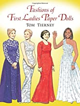 Fashions of First Ladies Paper Dolls