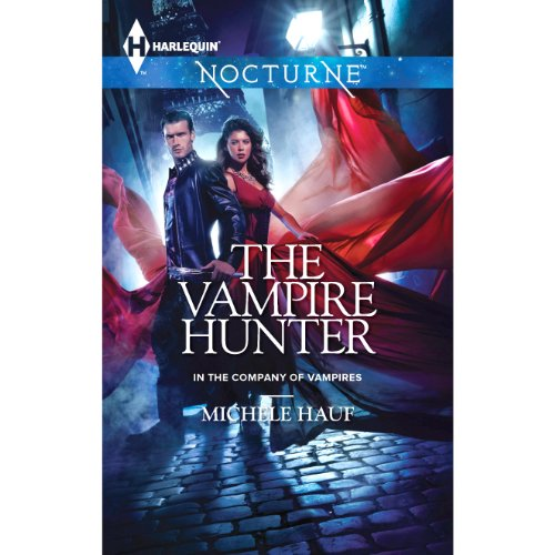 The Vampire Hunter audiobook cover art
