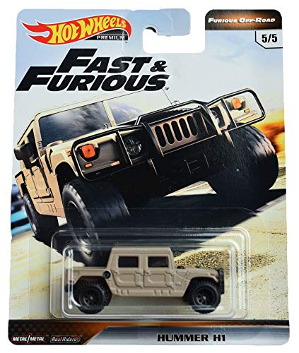 Hot Wheels Furious Off Road Hummer H1 5/5, tan