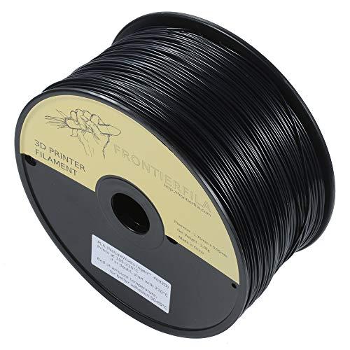 PLA 2.5kg 1.75mm negro - Filamento para impresora 3D - FrontierFila