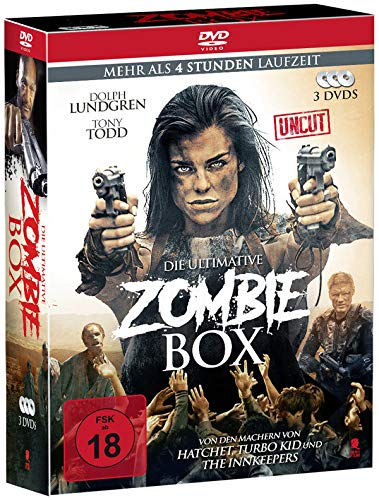 Die ultimative Zombie-Box (3 Movie Box, Uncut) [3 DVDs]