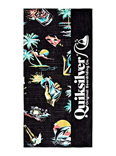 Quiksilver - Toalla de Playa - Hombre - ONE SIZE - Negro