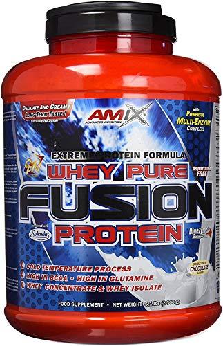 Amix Whey Pure Fusion Doble-Chocolate Blanco 2300 g