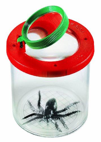 Corvus Corvus_710008 World's Best Insektenbeobachter mit Doppel-Lupe, rot