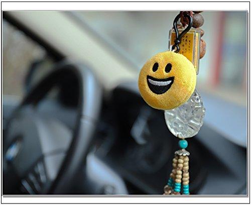 51OxldYbwcL - QH-Shop Emoji Llavero,Emoción Llavero 6cm Mini Regalo de Relleno de Juguete para Coche Mochila Fiesta Favores Decoración…