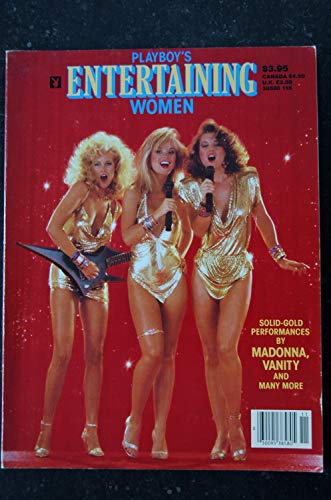 Playboy's Entertaining Women 1985 MADONNA NUDE 17 PAGES VANITY JEAN MANSON FLOWER ANNE MAY