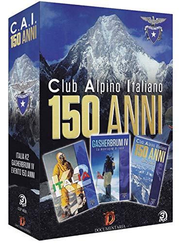 150 Anni Del Club Alpino Italiano (3 Dvd) [Italia]