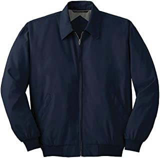Joe's USA Men's Big Casual Microfiber Jackets in Adult Sizes: XS-4XL