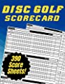 Disc Golf Scorecard: Score Keeper with 390 individual sheets | 130 pages | Large size Book 8.5 x 11