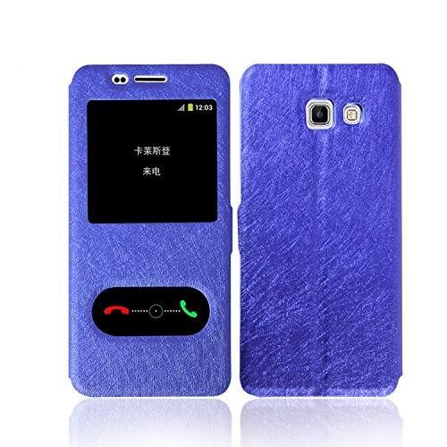 Xingyue Aile Covers y Fundas Para Samsung Galaxy J8 2018 J7 Prime 2017 2016, seda retro del tirón del cuero del soporte del titular de la cartera magnética Para Samsung Galaxy J1 J2 J3 J4 J5 J6 J8 Plu