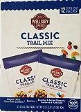 Wellsley Farms Trail Mix Snack Packs 12 pk./2.75 oz Net WT 33 oz - Peanuts, Cashews, Almonds, Raisins, M&M's Chocolate Candies