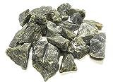 Zentron Crystal Collection: Natural Rough Labradorite, Includes Velvet Bag - Large 1' Pieces (1 Pound)