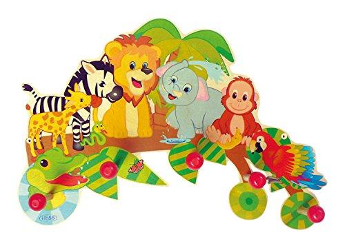Hess Spielzeug 30305 - Colgador de ropa (Multicolor)