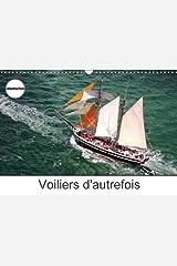 Voiliers d'autrefois: Photos aériennes d'anciens voiliers. Calendrier mural A3 horizontal Broché