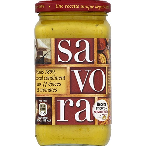 Amora - Condiment aux 11 épices et aromates - Le pot de 385g - (pour la quantité plus que 1 nous vous remboursons le port supplémentaire)