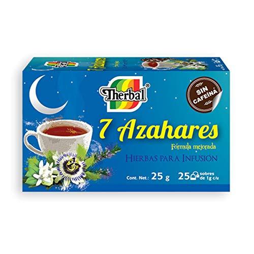 Té 7 Azahares 20 Sobres - Cafeine Free Tea- Therbal