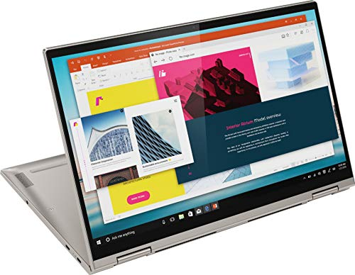 Lenovo Yoga C740 Laptop with 15.6' FHD 500nits Touchscreen, 10th Gen Intel i7-10510U, 1TB SSD, 16GB DDR4, HDR 400, Wi-Fi 6, BT 5.0, and Windows 10 Home