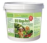 biobird Bio Dünge-Perls für Zier- & Nutzpflanzen - 100% Reiner Bio-Dünger (2 kg)