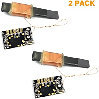 Alano WWVB 60kHz NIST Radio Controlled Clock Modules, 30dB High Gain Atomic Clock Receiver Module, 100mm Antenna 1.2 to 5V Operating Voltage for Radio/Radio Alarm Clock/Timer