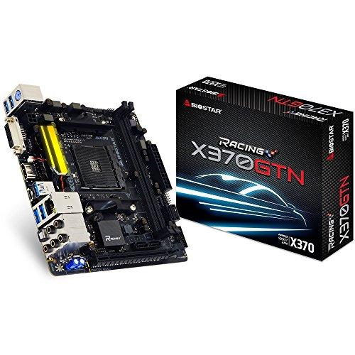Biostar x370gtn AMD X370Socket AM4Mainboard–Mainboards (ddr4-sdram, DIMM, 1866,2133,2400,2667,2933,3200MHz, Dual, 32GB, AMD)