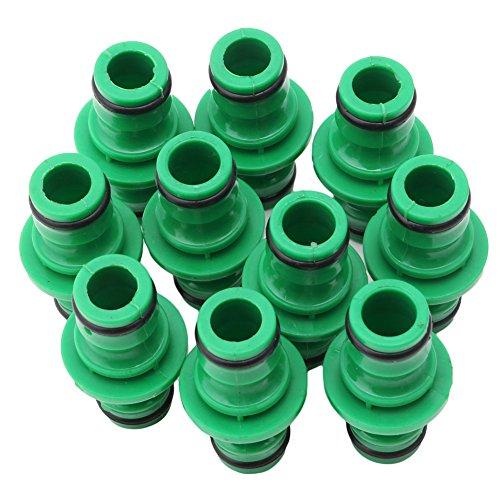 LANCHEN 10 Piezas unidireccional 1/2'Manguera de jardín Conector de Agua ensamblador acoplador de fijación rápida Nuevo