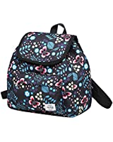 MIETTE Mini Backpack Purse for Girls & Women, Cute Small Drawstring Bag with Flap Top, Butterfly