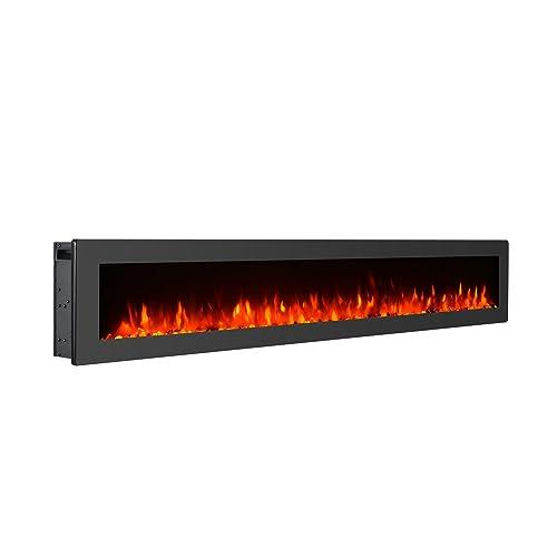 60 Electric Fireplace Amazon Com