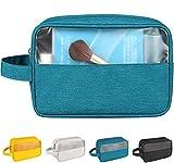 CAOODKDK Premium Hanging Travel Toiletry Bag for Women and Men, Water-resistant Makeup Cosmetic Bag Waterproof Travel Kit, Shaving/Grooming/Cosmetic/Toiletries, Multifunction Cosmetics Organizer Pouch